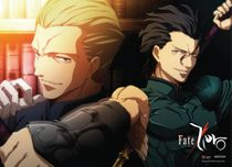Fate/ Zero Lancer & Kayneth Wallscroll Pre-Order