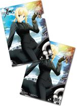 Fate/Zero Saber File Folder (5 Pcs Pack) RETIRED