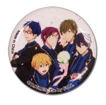 """Free! 2 - Group In Suits Button 1.25"""" Pre-Order"""