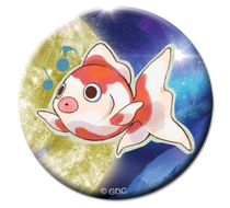 "Galilei Donna - Goldfish Button 1.25"" Pre-Order"