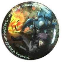 Ghost In The Shell - Motoko With Tachikoma Explosive Button Pre-Order