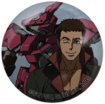 Gundam Iron Blooded Orphans - Norba & Gundam Button 1.25'' Pre-Order