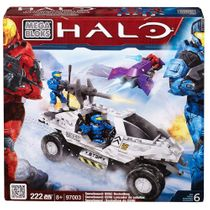 Halo Mega Bloks Snowbound UNSC Rockethog