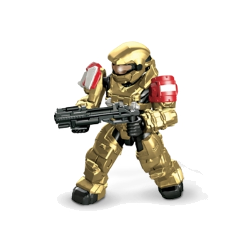 Halo Minifigure: UNSC Grenadier by Mega Bloks.