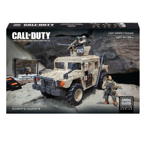 Mega Bloks Call of Duty Light Armor Firebase
