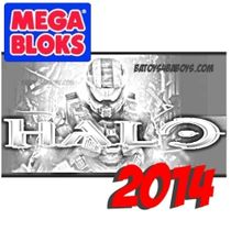 2014 Mega Bloks Halo Metallic Series Drop Pod Asst II Case of 16