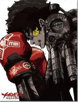 Megalobox - Key Art Sublimated Throw Blanket Pre-Order