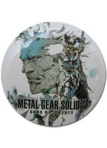 Metal Gear Solid Snake Button RETIRED