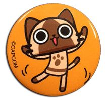 Monster Hunter - Airou Dance Button 1.25'' Pre-Order