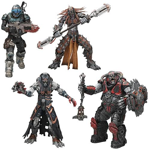 Series 6 Action Figure Set of 4