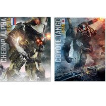 Pacific Rim Series 3 Russian & Japanese Jaeger Action Figure SET