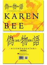 Nisemongatari Karen Elastic Band Document Folder Pre-Order