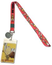 One Punch Man - Saitama And Oppai Lanyard Pre-Order
