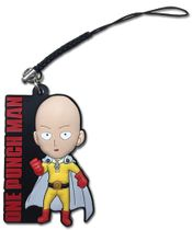 One Punch Man - Sd Saitama Pvc Phone Charm Pre-Order