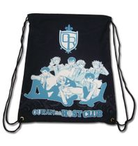Ouran H.S Host Club - Group Black Drawstring Bag Pre-Order