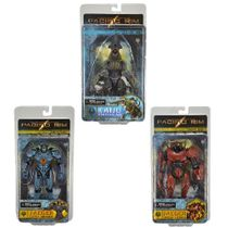 Pacific Rim Series 1 Action Figure SET [Gipsy Danger, Crimson Typhoon & Knifehead]