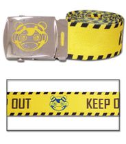 Psycho Pass - Keep Out Fabric Belt Pre-Order