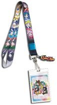 Sailor Moon S - Sailor Soldiers Portraits Lanyard Pre-Order