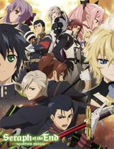Seraph Of The End - Group Sublimation Throw Blanket Pre-Order