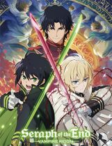 Seraph Of The End - Mikaela, Yuichiro And Guren Sublimation Throw Blanket Pre-Order