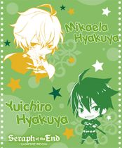 Seraph Of The End - Sd Group Throw Blanket Pre-Order