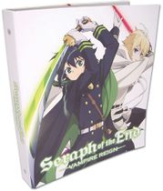Seraph Of The End - Yuchiro And Mikaela Binder Pre-Order