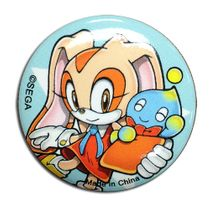 Sonic The Hedgehog - Cream & Chao 1.25'' Button Pre-Order