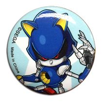 Sonic The Hedgehog - Metal Sonic 1.25'' Button Pre-Order