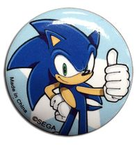 Sonic The Hedgehog - Sonic Button 1.25'' Pre-Order