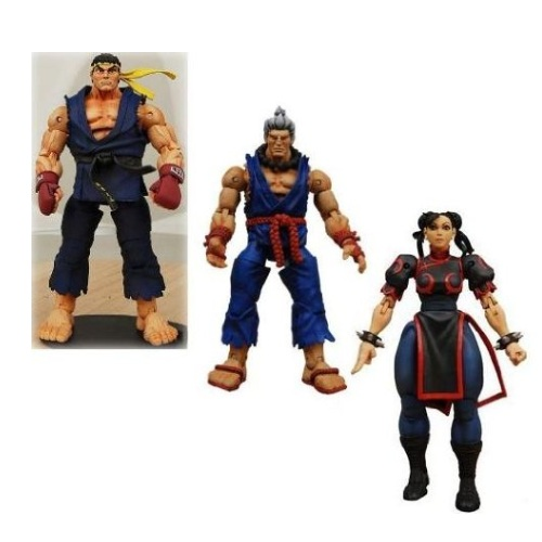 Survival Mode Round 2 Set of 3 Action Figures