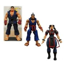 Street Fighter IV Survival Mode Round 2 Set of 3 Action Figures