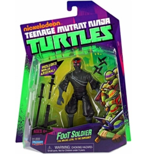Basic Foot Soldier TMNT Action Figure
