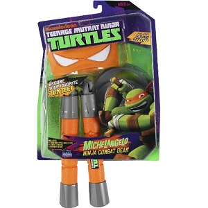 [Nunchucks] Combat Gear Michelangelo
