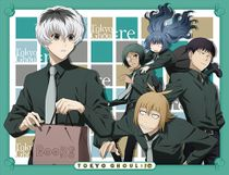 Tokyo Ghoul:Re - Group Sublimation Throw Blanket Pre-Order