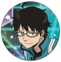 World Trigger - Osamu Button 1.5'' Pre-Order