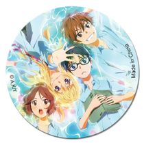Your Lie In April - Group Button Pre-Order