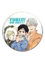 Yuri!!! On Ice - Group Casual 1.25 Button TBD