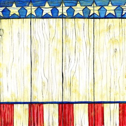American Country - Print