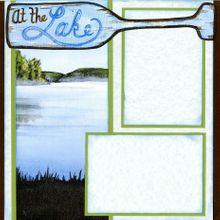 At The Lake (Page Kit) - Left & Right