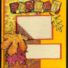 Autumn Beauty (Page Kit) Left & Right Pages