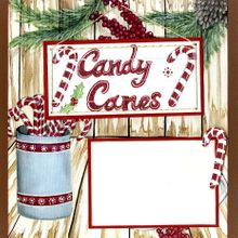 Candy Canes & Hot Cocoa - Quick Pages set - Left & Right