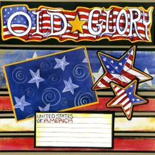 Celebrating Old Glory - Quick Pages Set - Left & Right