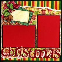 Christmas Cheer - Quick Pages Set - Left & Right