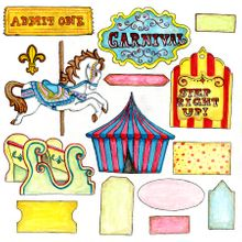 Carousel Cut-Outs