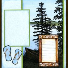 At The Lake (Page Kit) - Right Side