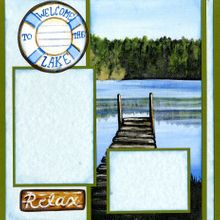 Lake Life (Page Kit) Right Side