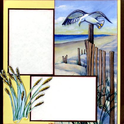 Beach Life Fun (Page Kit) - Right Side