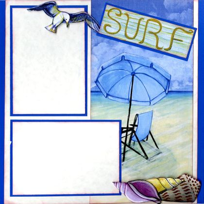 Sand & Surf (Page Kit) - Right Side