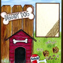 Diggity Dog  (Page Kit) - Left & Right