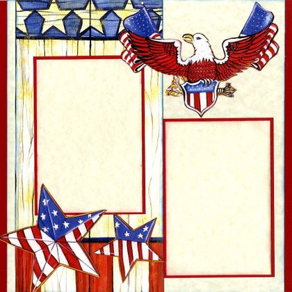 God Bless America - Quick Pages Set - Left & Right